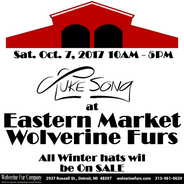 poster wolverine fur company hosting luke song