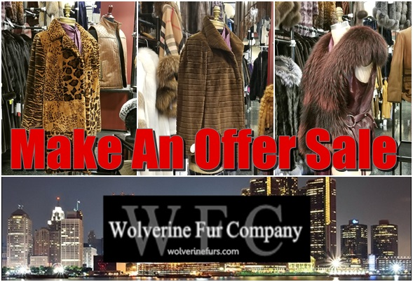 wolverine fur company make an offer sale notice