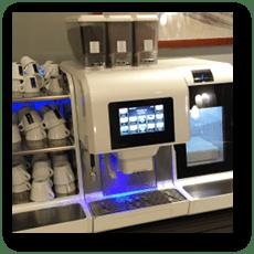 ホテルの超高機能エスプレッソマシン