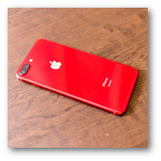 iPhone 8 Plus (PRODUCT) RED うら