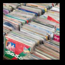 いつか来た道 - レコード店