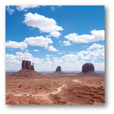 Monument Valley - Buttes