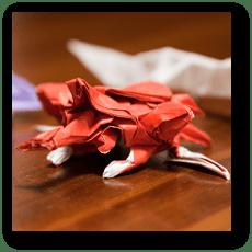 折り紙 カブトムシ