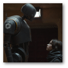 Rogue One: A Star Wars Story - Jyn and K-2SO