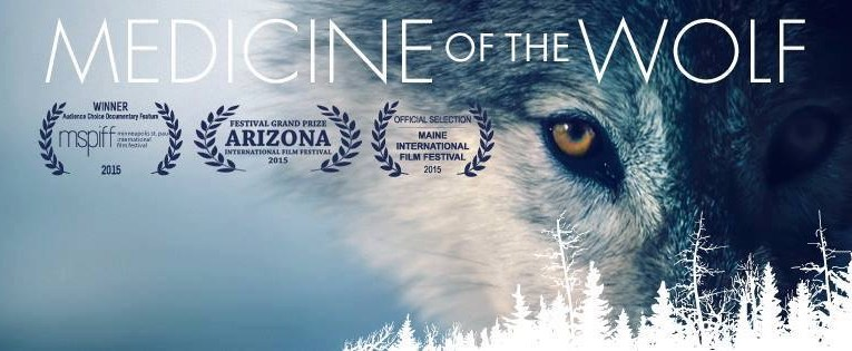 The award winning documentary film 'Medicine of the Wolf' will be showing at this year's Speak for Wolves event in West Yellowstone