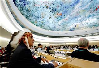 Standing Rock Sioux Takes Pipeline Fight to The United Nations