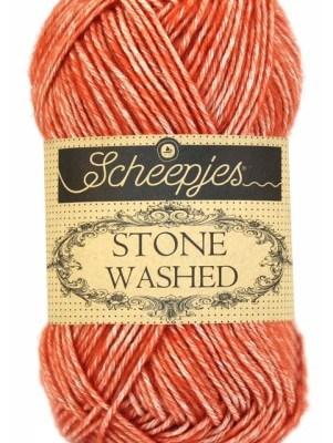 wolzolder Scheepjes Stone Washed - 816 - Coral