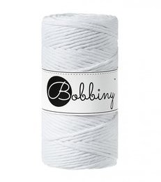 Wolzolder Bobbiny macrame 3mm White