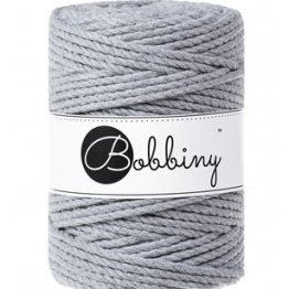 Bobbiny triple twist 5mm Wolzolder Silver