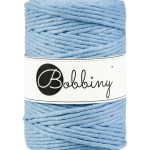 Bobbiny macrame 5mm Wolzolder Baby Blue