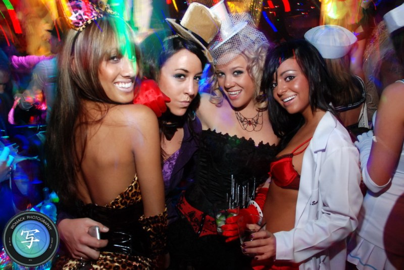 Halloween 2008 at The Bank Nightclub