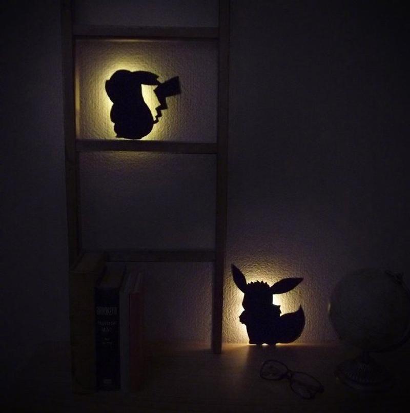 寶可夢造型夜燈