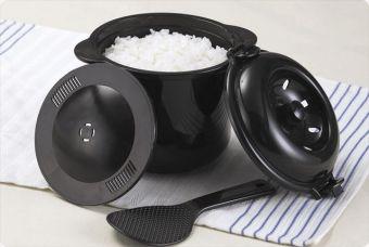 電子レンジ専用炊飯器 ちびくろちゃん