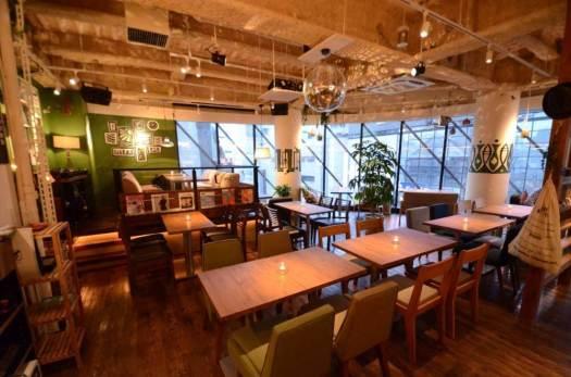 #802 CAFE&DINER 渋谷店の店内