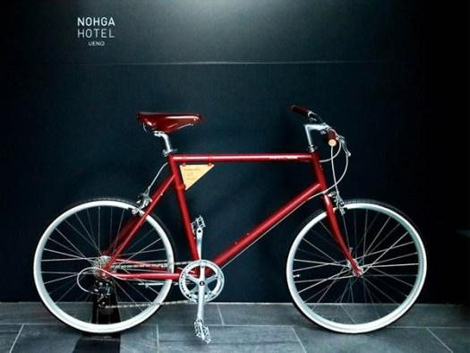 NOHGA HOTEL UENOでレンタルできる谷中発の自転車「tokyobike」