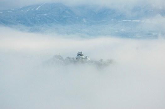 天空の城 越前大野城