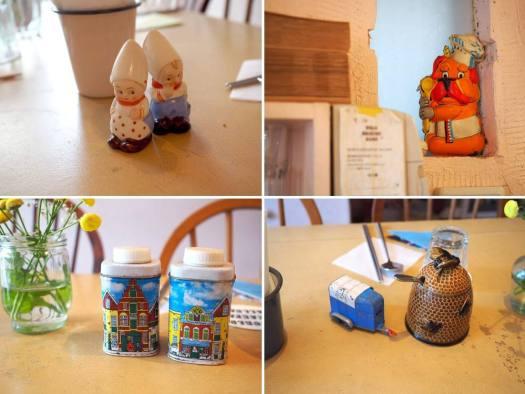 「WORLD BREAKFAST ALLDAY 外苑前店」で飾られている雑貨たち