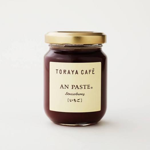トラヤカフェの数量限定のあんペースト「いちご」