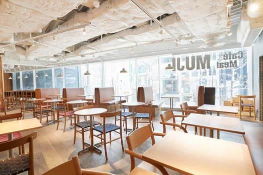 Café&Meal MUJI 渋谷西武の店内