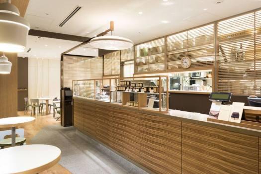 「TORAYA cafe 青山店」の店内