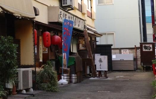 Honda原付女子図鑑:藤沢飲食店街