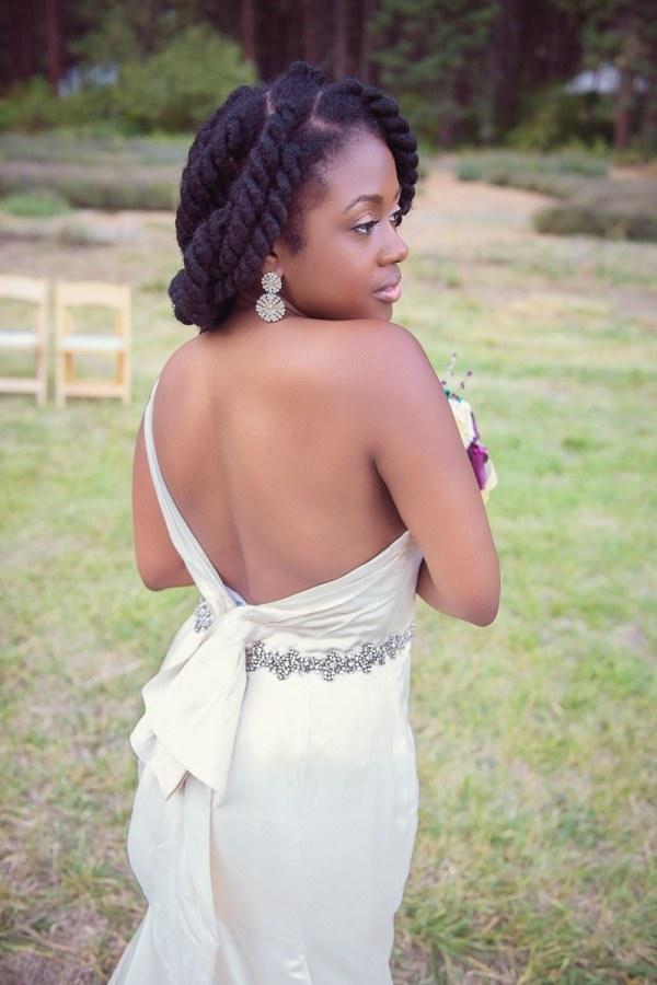 71 Natural Hairstyles Perfect For Your Naija Wedding Woman Ng
