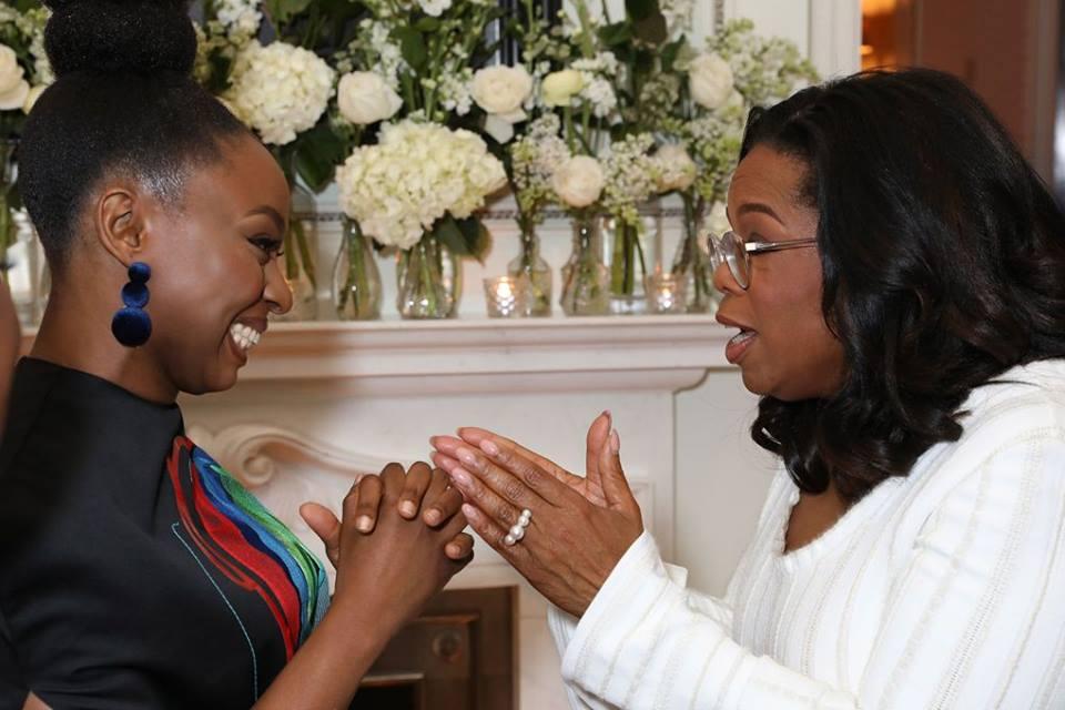 Chimamanda Ngozi Adichie meets Oprah Winfrey  WomanNG