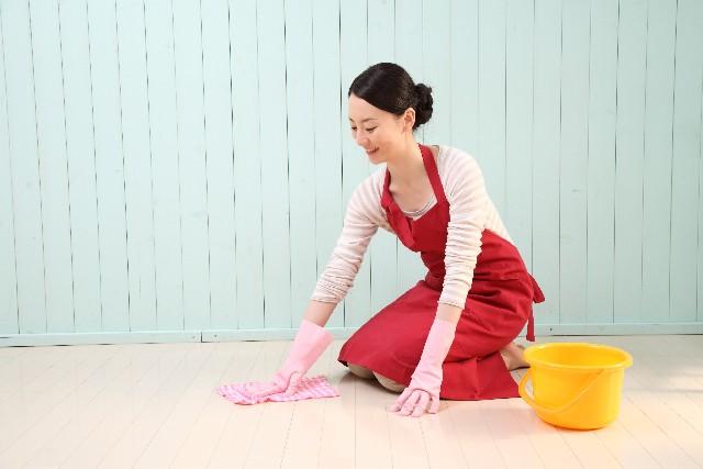 女性の掃除