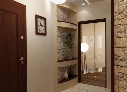 коридор в хрущевке дизайн фото реальные 3
