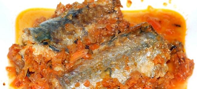 Putassu under marinade fra gulerod og bue