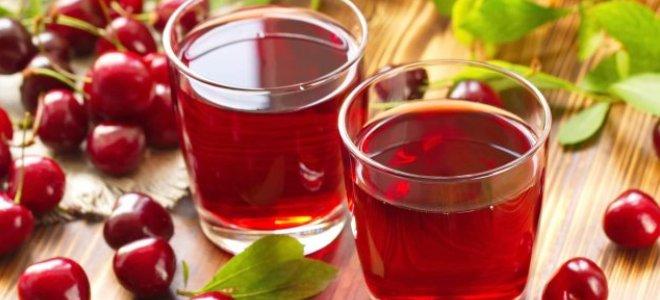 Домашнее вишневое вино польза и вред