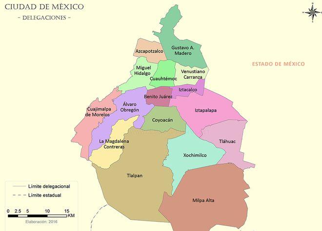 Координаты города мехико