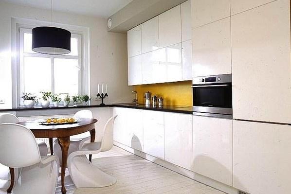 белая кухня дизайн фото 7