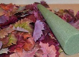 Как сделать топиарий из листьев деревьев. Топиарий своими руками из салфеток
