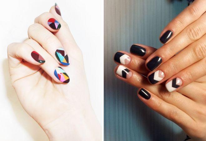 ногти геометрия дизайн 2