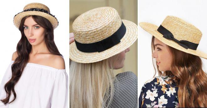 Idea di paglia cappello rodotier