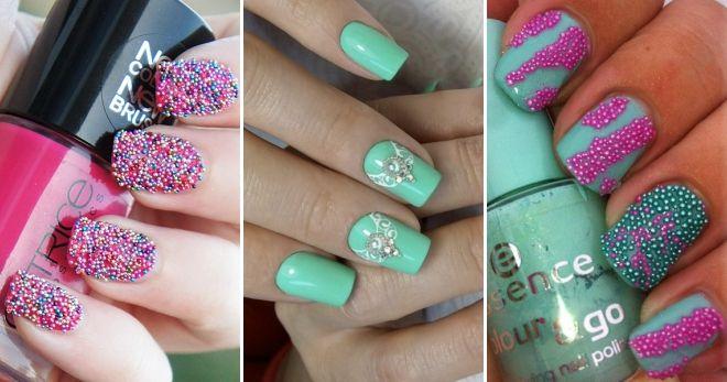 Ideas manicure with bouillon bright