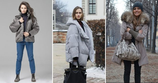 What to wear with a gray down jacket surround