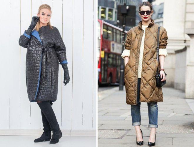 shoes under women's coat