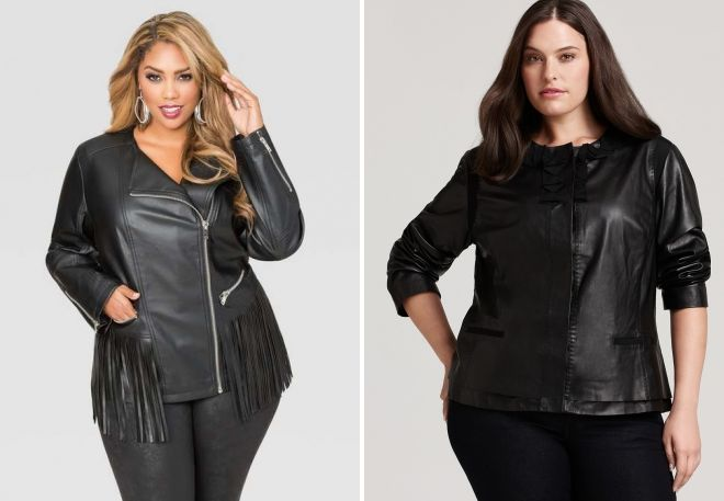 leather jackets for obese