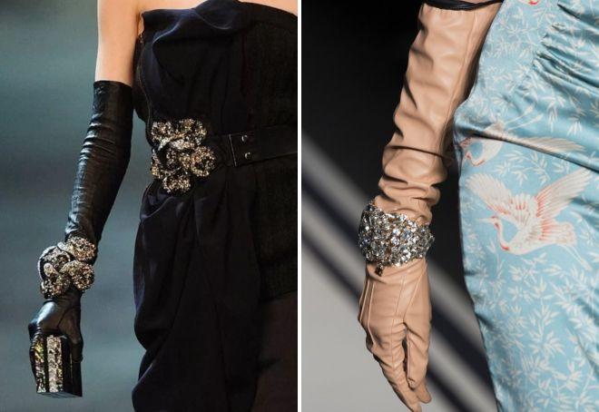 evening long gloves