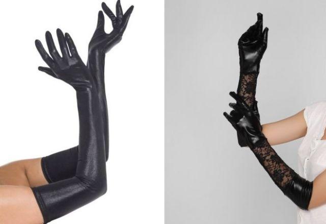 long latex gloves