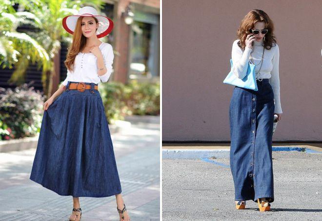 0657588ff871 Как сделать юбку из джинсов своими руками
