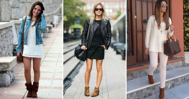 How to wear high brown boots