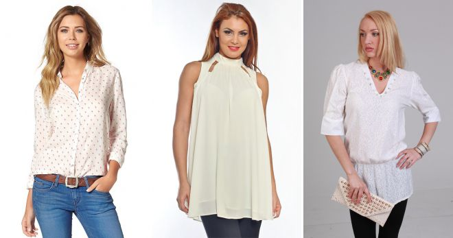 ivory blouses