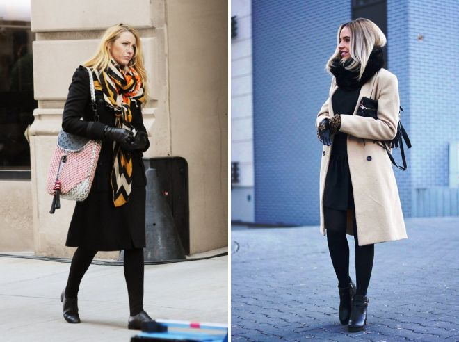 how to wear a tippet with a classic coat