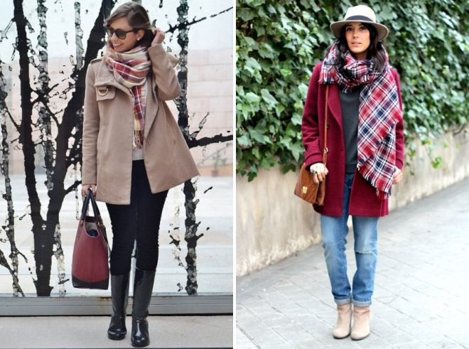 how to wear a trench coat with a short coat