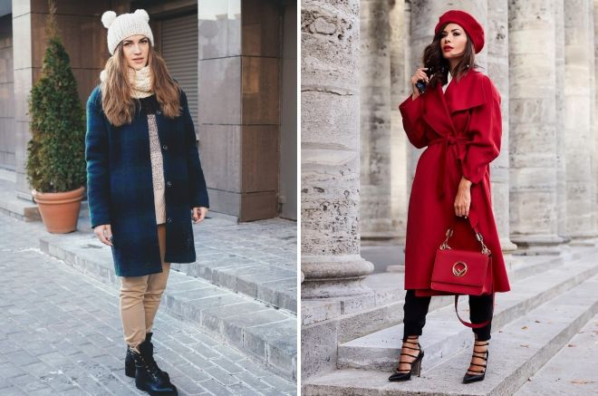 what headwear to wear with a coat