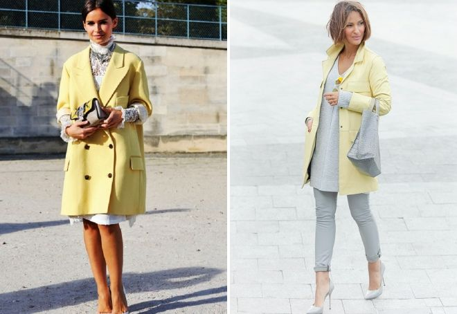 yellow coat images