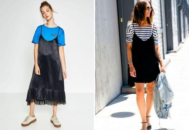 what t-shirt to wear sundress